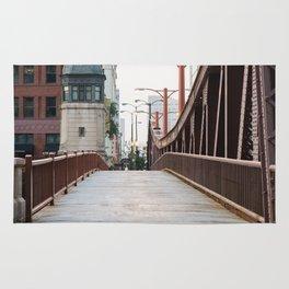 Chicago River Walk Rug