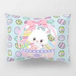Easter Bunny Easter Basket Pillow Sham
