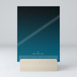 Carl Sagan The Pale Blue Dot Print, Poster Print, Inspirational Quote, Astronomy print. Minimalist Poster, Wall Art Mini Art Print