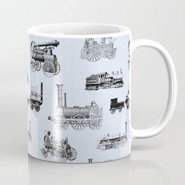 Antique Steam Engines // Steel Grey Coffee Mug