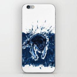 Humpback whale Blue iPhone Skin
