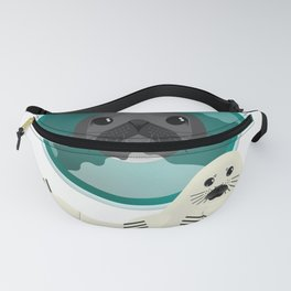 Harp Seal - Baby and Mom Fanny Pack