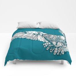 Mechanical owl Comforters