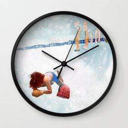 Pete's Summer Vacation Wall Clock