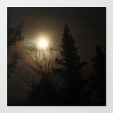 Moon Halo Canvas Print