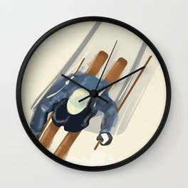 Ski Colorado Wall Clock