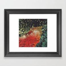 r e c e p t o r s (collaboration with Jesse Treece) Framed Art Print