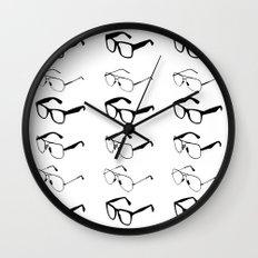 GLASSES II Wall Clock