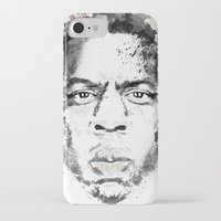 jay z iPhone & iPod Cases featuring Jay Z by I AM DIMITRI