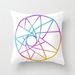 Aurora's Dream Throw Pillow