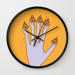 How Many Slices You Want? Wall Clock