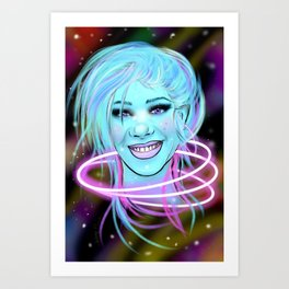 Candace Pisces in Venus Starseed  Art Print