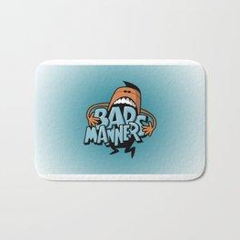 Bad Manners Bath Mat