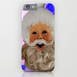 Infernal Santa iPhone Case