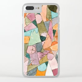 Abstract Painting by Paul Klee, 1914 Clear iPhone Case