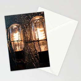 Two lights in the darkness Stationery Cards