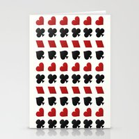 suits Stationery Cards featuring Card Suits by •ntpl•