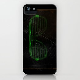 Electro Glasses iPhone Case