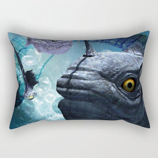 The frogfish  Rectangular Pillow