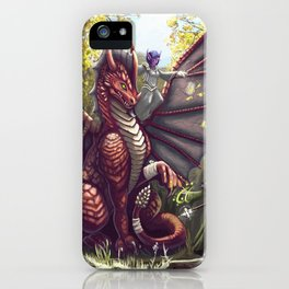 Mending the Dragon iPhone Case
