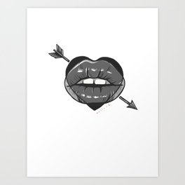 Bec. Art Print