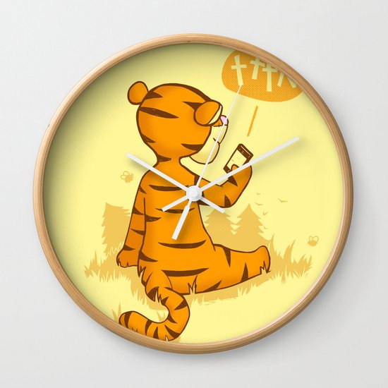 Ta Ta For Now Wall Clock