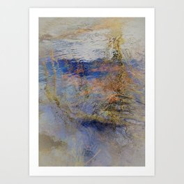 West River Abstract II Art Print