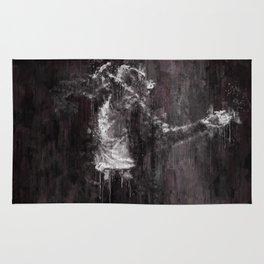 Michael MJ - Jackson, Impressionism, Poster, Music, Art Print. Pop Culture Home decor, Dorm Decor Rug