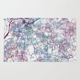 Louisville map (without name) Rug