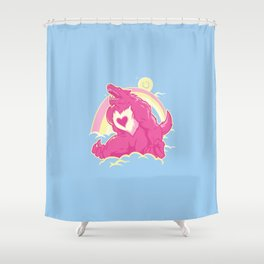 Curse of The CareWere! Shower Curtain