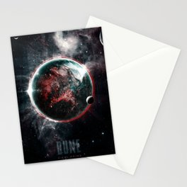 Dune Geidi Prime Planet Poster Stationery Cards