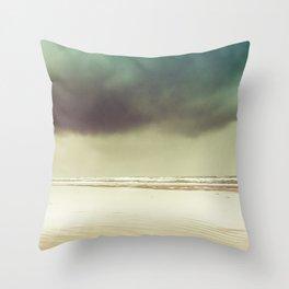 Ocean Solitude Throw Pillow