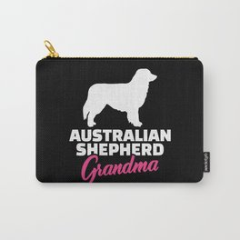 Australian Shepherd Grandma Carry-All Pouch