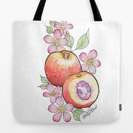 Crystal Peach Tote Bag