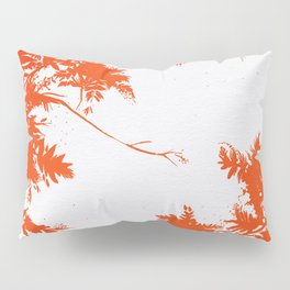 Night's Sky Persimmon Pillow Sham