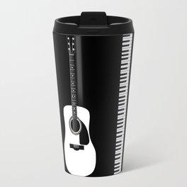 Guitar Piano Duo Travel Mug