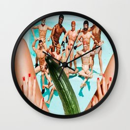 cucumbers know Wall Clock