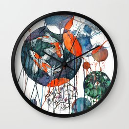 Koi Dreams Wall Clock