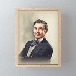 Clark Gable, Actor Framed Mini Art Print