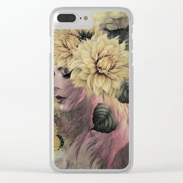 BREEZE BLOWING WITH FRAGRANCE Clear iPhone Case