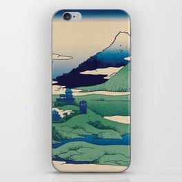 Doctor Who Mount Fuji - Mont Fuji - Tardis iPhone Skin