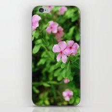 (piink)x(flowers) iPhone Skin