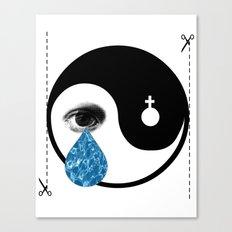 Tearz Canvas Print