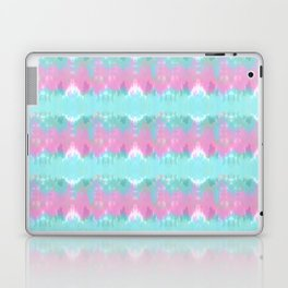 Summer Vibes Tie Dye in Cotton Candy Laptop & iPad Skin