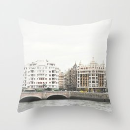 Gros Throw Pillow
