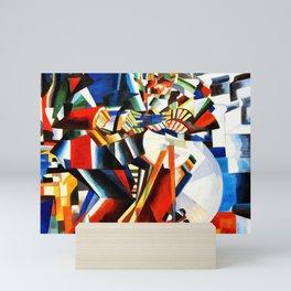 Kazimir Malevich - The Knife Grinder - Principle of Glittering - Knife Sharpener Mini Art Print