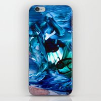 cancer iPhone & iPod Skins featuring Cancer by ART de Luna