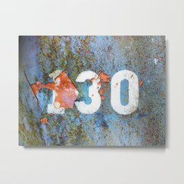 One Thirty Metal Print