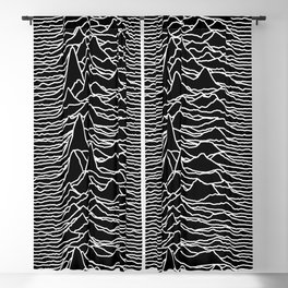 Joy Division - Unknown Pleasures Blackout Curtain