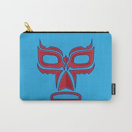 Luchador Mask Good Guy Carry-All Pouch